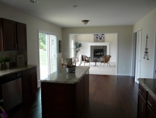 13. Kitchen Into Family Room